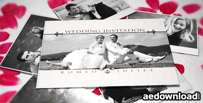 WEDDING INVITATION - AFTER EFFECTS PROJECT (VIDEOHIVE