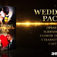 WEDDING PACK 4588232 – PROJECT FOR AFTER EFFECTS (VIDEOHIVE)