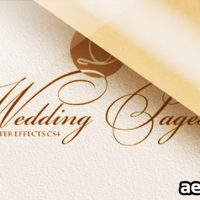 WEDDING PAGES – PROJECT FOR AFTER EFFECTS (VIDEOHIVE)