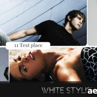 WHITE STYLISH MOVEMENTS – AFTER EFFECTS PROJECT (VIDEOHIVE)