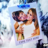 WINTER PHOTO SLIDESHOW – PROJECT FOR AFTER EFFECTS (VIDEOHIVE)
