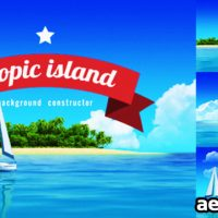 YACHT SAILING ISLAND TRAVEL INTRO (VIDEOHIVE)