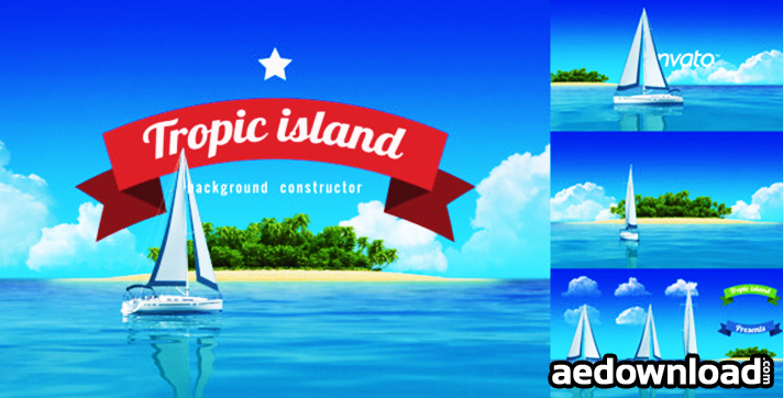 Yacht Sailing Island Travel Intro