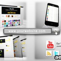 YOUR WEBSITE PACK – AFTER EFFECTS PROJECT (VIDEOHIVE)
