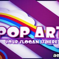 POP ART – AFTER EFFECTS PROJECT (VIDEOHIVE)