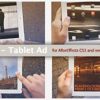 IWALK – TABLET AD – PROJECT FOR AFTER EFFECTS (VIDEOHIVE)