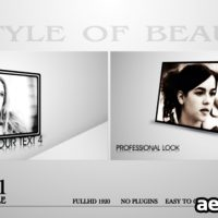 STYLE OF BEAUTY – AFTER EFFECTS PROJECT (VIDEOHIVE)