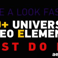 100+ UNIVERSAL VIDEO ELEMENTS PACK – VIDEOHIVE FREE DOWNLOAD