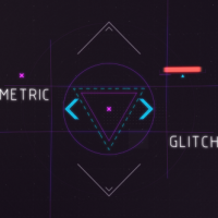 VIDEOHIVE GEOMETRIC GLITCH INTRO 2 – AFTER EFFECTS TEMPLATES