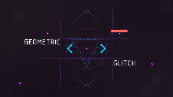 Geometric Glitch Intro 2