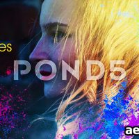 A COLORFUL SPLASH OF LIFE OPENER – AFTER EFFECTS TEMPLATE (POND5)