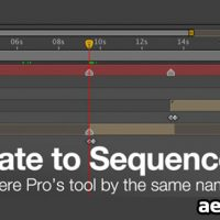 AUTOMATE TO SEQUENCE V1.1 (AESCRIPTS) (FREE PLUGINS & PRESETS)