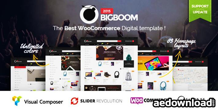 Bigboom v1.2.3 – Responsive Ecommerce WordPress Theme