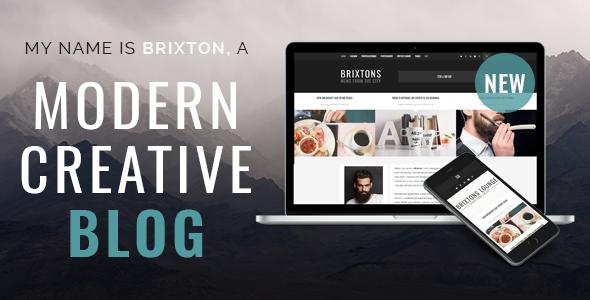 Brixton-WordPress-Blog-Theme