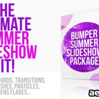 Videohive Bumper Summer Slideshow Package 5337824 – After Effects Project Files