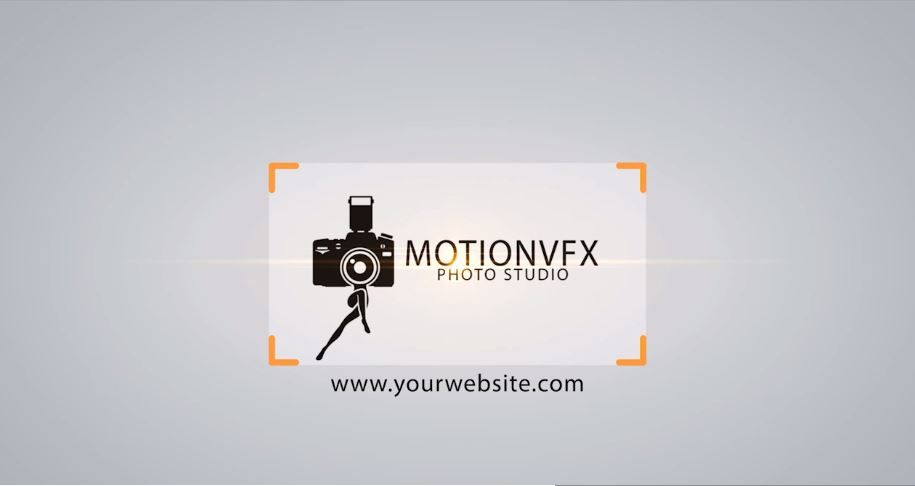 PHOTO FRAME LOGO - AFTER EFFECTS PROJECT (MOTIONVFX)