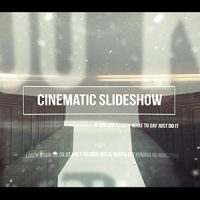 VIDEOHIVE CINEMATIC SLIDESHOW – AFTER EFFECTS TEMPLATES