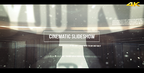 VIDEOHIVE CINEMATIC SLIDESHOW - AFTER EFFECTS TEMPLATES - Free ...