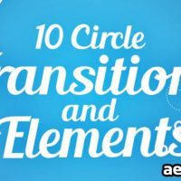 CIRCLE TRANSITIONS AND ELEMENTS – VIDEOHIVE