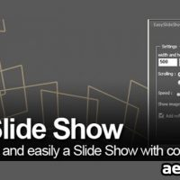 EASY SLIDE SHOW V1.1 (AESCRIPTS) FREE DOWNLOAD