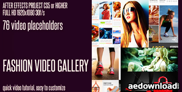 Fashion Video Gallery