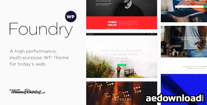 Foundry v1.9.1 – Multipurpose, Multi-Concept WP Theme