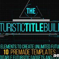 FUTURISTIC TITLE BUILDER – VIDEOHIVE FREE DOWNLOAD