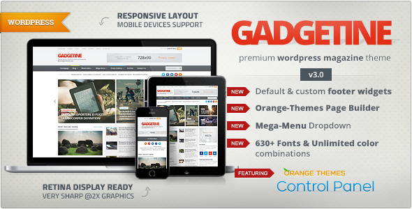 Gadgetine v3.0.12 WordPress Theme for Premium Magazine Free Download ...