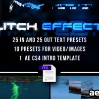 GLITCH PRESETS FOR TEXT AND VIDEO  (FREE PLUGINS & PRESETS)