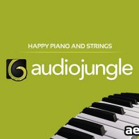 HAPPY PIANO AND STRINGS (AUDIOJUNGLE)