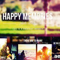 HAPPY MEMORIES – VIDEOHIVE FREE DOWNLOAD