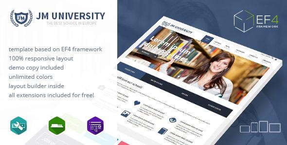 JM-University-multipurpose-education-template