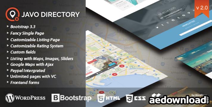 Javo Directory v2.2.4 – WordPress Theme