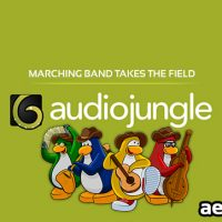 MARCHING BAND TAKES THE FIELD (AUDIOJUNGLE)