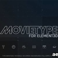 MOTIONWORK – MOVIETYPE FOR ELEMENT 3D (WIN/MAC)