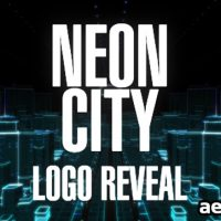 NEON CITY LOGO REVEAL – VIDEOHIVE FREE DOWNLOAD
