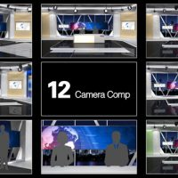 VIDEOHIVE NEWSSTUDIO 100 – AFTER EFFECTS TEMPLATES