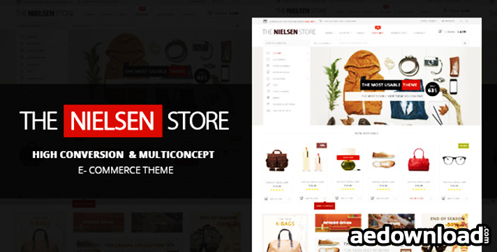 Nielsen v1.2.9 – E-commerce WordPress Theme