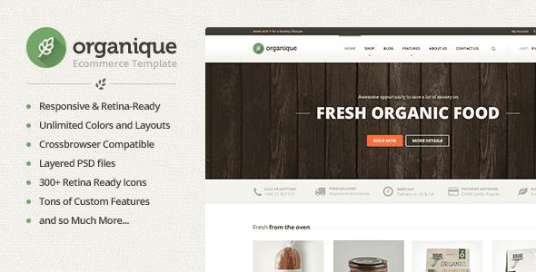 Organique v1.9.6 – WordPress Theme For Healthy Food Shop free ...
