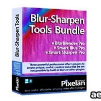 PIXELAN BLUR-SHARPEN TOOL V1.0 FOR AFTER EFFECTS & PREMIERE PRO
