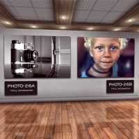 VIDEOHIVE PHOTO ART GALLERY 3D – AFTER EFFECTS TEMPLATE