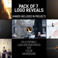 VIDEOHIVE PACK OF HAND LOGO – AFTER EFFECTS TEMPLATES