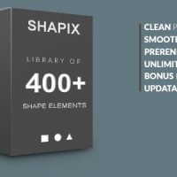 VIDEOHIVE SHAPIX – SHAPE ELEMENTS PACK – AFTER EFFECTS TEMPLATES