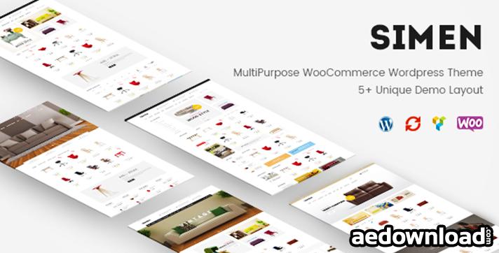Simen v1.1 – MultiPurpose WooCommerce WordPress Theme
