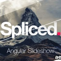 Videohive Spliced Angular Slideshow 14685274 – After Effects Project Files