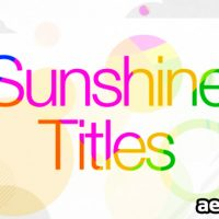 SUNSHINE TITLES – VIDEOHIVE FREE DOWNLOAD