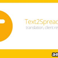 TEXT2SPREADSHEET 1.002 (AESCRIPTS)