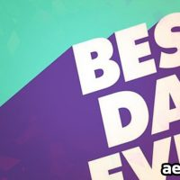 THE BEST DAY (FREE AUDIOJUNGLE)