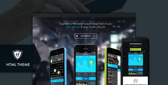 Tapptastic-Mobile-App-HTML-Theme