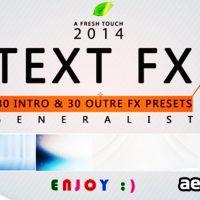 TEXT FX GENERALIST (FREE PLUGINS & PRESETS)